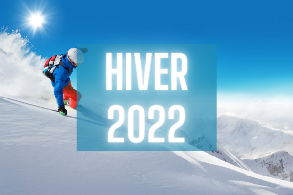 HIVER 2022 home page